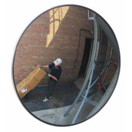 Vestil CNVX-30-O Outdoor Acrylic Security Mirror 30in Dia-1