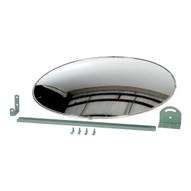 Vestil CNVX-30 Industrial Acrylic Mirror- Round Convex-4