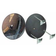 Vestil CNVX-36-O Outdoor Acrylic Security Mirror 36in Dia-1