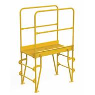 Vestil COLV-3-34-32 Cross-over Ladder Vertical 3step 32-1