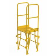 Vestil COLV-3-34-8 Cross-over Ladder Vertical 3step 8-1