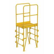 Vestil COLV-4-46-20 Cross-over Ladder Vertical 4step 20-1