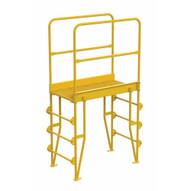 Vestil COLV-4-46-32 Cross-over Ladder Vertical 4step 32-1