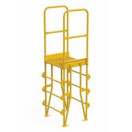 Vestil COLV-4-46-8 Cross-over Ladder Vertical 4step 8-1