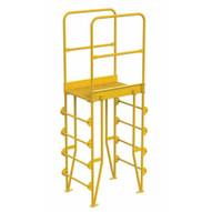 Vestil COLV-5-58-20 Cross-over Ladder Vertical 5step 20-1