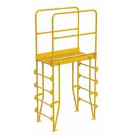 Vestil COLV-5-58-32 Cross-over Ladder Vertical 5step 32-1