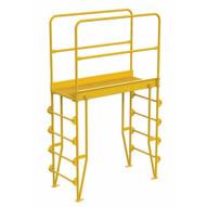 Vestil COLV-5-58-44 Cross-over Ladder Vertical 5step 44-1