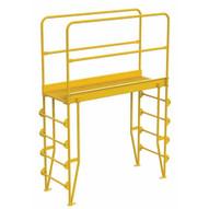 Vestil COLV-5-58-56 Cross-over Ladder Vertical 5step 56-1