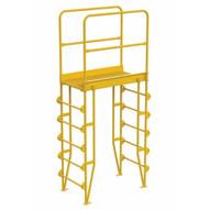 Vestil COLV-6-70-32 Cross-over Ladder Vertical 6step 32-1