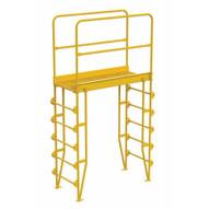 Vestil COLV-6-70-44 Cross-over Ladder Vertical 6step 44-1