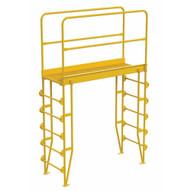 Vestil COLV-6-70-56 Cross-over Ladder Vertical 6step 56-1