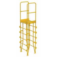 Vestil COLV-6-70-8 Cross-over Ladder Vertical 6step 8-1