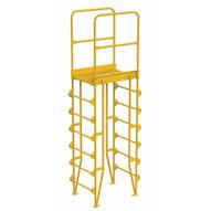 Vestil COLV-7-82-20 Cross-over Ladder Vertical 7step 20-1