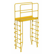 Vestil COLV-7-82-44 Cross-over Ladder Vertical 7step 44-1
