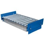 Vestil CONV-1832 Conveyor W Retractable Stops-3
