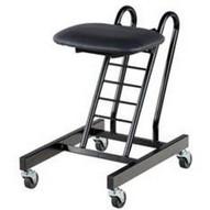 Vestil CPRO-100 Portable Ergonomic Worker Chair-1