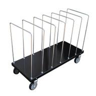 Vestil CTPT-1844-CK Portable Carton Cart With Dividers-1