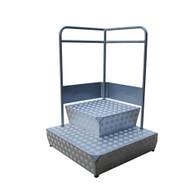 Vestil CUP-3131 Container Step Platform-4