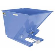 Vestil D-100-HD-BL-S Self-dump Hopper Hd 1 Cu Yard 6k Sky Blue-1