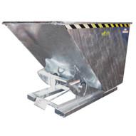 Vestil D-100-HD-GAL Self Dumping Hopper W bumper Release Gal-1