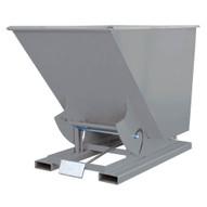 Vestil D-150-HD-GY-SG Self Dumping Hopper - Heavy Duty - Grey-1