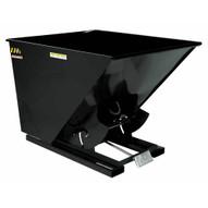 Vestil D-200-HD-BLK-HG Self-dump Hopper Hd 2 Cu Yard 6k Blk Higloss-1