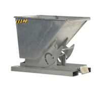 Vestil D-200-HD-GAL Self Dumping Hopper - Heavy Duty - Galv-1
