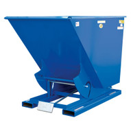 Vestil D-50-MD Self Dumping Hopper - Medium Duty - Blue-1