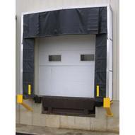 Vestil D-520-24 Retractable Dock Shelter-2