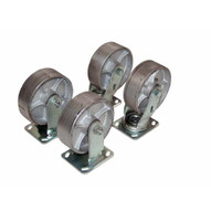 Vestil D-CK4-SC8-2 8 X 2 Semi-steel Caster Kit 4800# Cap-1