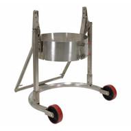 Vestil DCR-110-55-SS Stainless Steel Manual Drum Carrierrotator-3