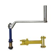 Vestil DCT-R-HC Drum Carrier Rotator- Hand Crank Option-1