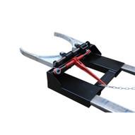 Vestil DGS-AG Fork-mounted Drum Gripper - Adjustable-3