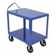 Vestil DH-MR2-2448-D Ergo Handle Cart Rubber Wdrain 24 X 48-1