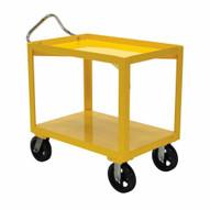 Vestil DH-MR2-3060-D Ergo Handle Cart Rubber Wdrain 30 X 60-1