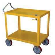 Vestil DH-PH4-2436-D Ergo-handle Cart With Drain-3