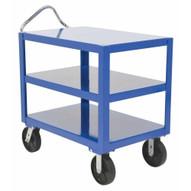 Vestil DH-PH4-2460-3 Heavy Duty Ergo Handle Cart 3 Shelf 24 X 60-1