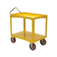 Vestil DH-PU2.4-2448-D Ergo-handle Cart With Drain-1