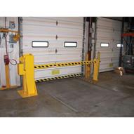 Vestil DJG-100MW Dock Barricade - Manual Hand Crank-1