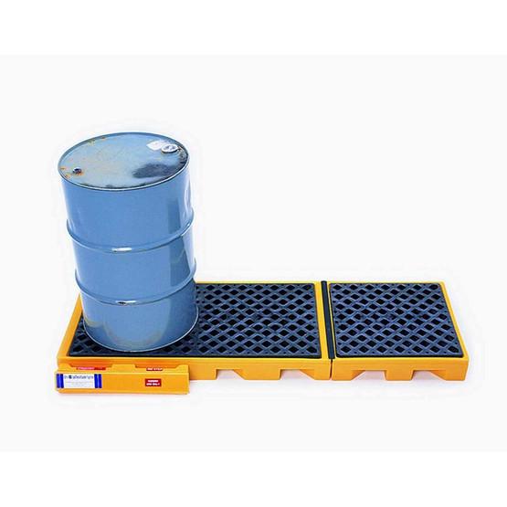 Vestil DR-3-UT Three Drum Inline Spill Deck-1