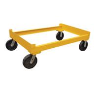 Vestil DR-CART-2 Portable Cart - Two Drum Storage Rack-4