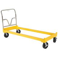 Vestil DR-CART-3-HLK Cart For Three Drum Storage Rackhandle-1