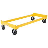 Vestil DR-CART-3 Portable Cart - Three Drum Storage Rack-4