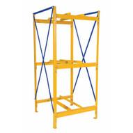 Vestil DRK-1-3 Drum Storage Rack 1 Wide 3 High-1