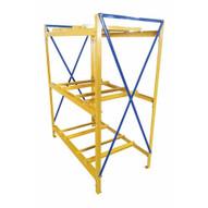 Vestil DRK-2-3 Drum Storage Rack 2 Wide 3 High-1