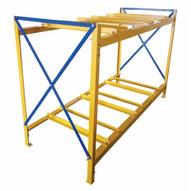 Vestil DRK-3-2 Drum Storage Rack 3 Wide 2 High-1