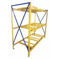 Vestil DRK-3-3 Drum Storage Rack 3 Wide 3 High-1