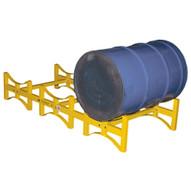 Vestil DRUM-RACK-3 Stackable Drum Rack - 3 Drum-2