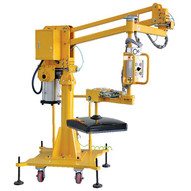 Vestil DSL-300 Air Balance Jib Lifter - Floor Mount-1