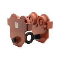 Vestil E-MT-8 Low Profile Eye Manual Trolley - Push-1